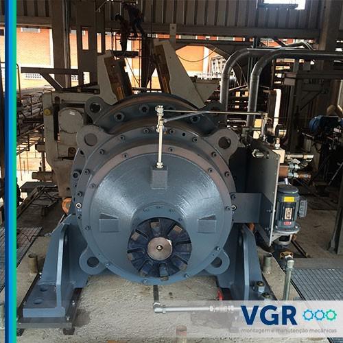 Empresa de montagem mecânica industrial