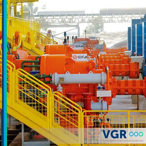 Instalação e montagem industrial