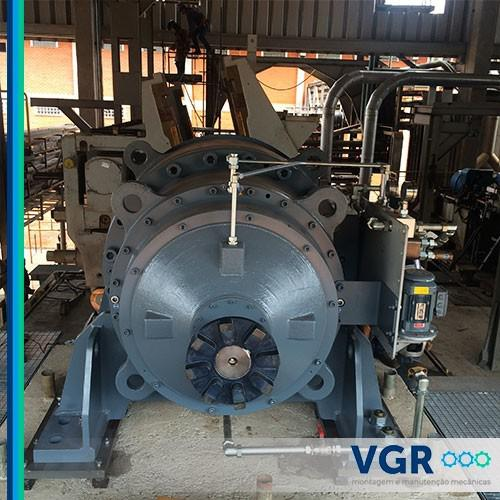 Manutenção mecânica industrial sp