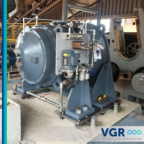 Serviços manutenção mecânica industrial