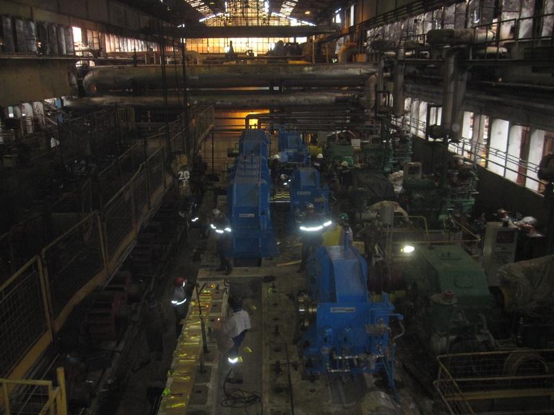 Instalação de novo acionamento, Usina Vale do Rosário - LDC BIOSEV